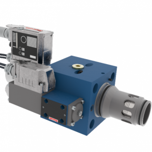 New generation of Bosch Rexroth WRC-4X directional cartridge valves.